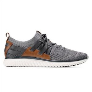 Cole Haan Gray Stitchlite Lace ups